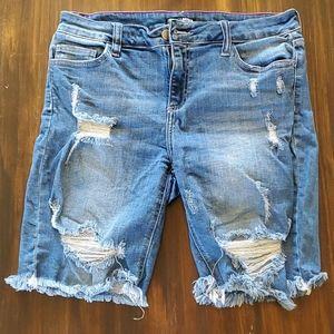 Fashion Nova shorts.